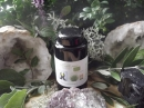Bio-Gerstengras Pulver 150g aus Österreich im Violettglas