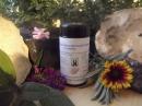 Sango Meereskorallen Pulver Original 100g im Violettglas